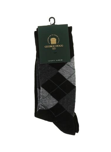 George Hogg Çorap Siyah
